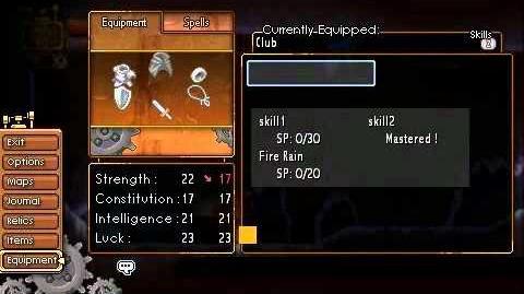 Moonlight Requiem - Mask and Skills