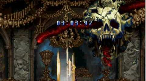 GMV Castlevania Order Of Ecclesia Albus mode boss rush