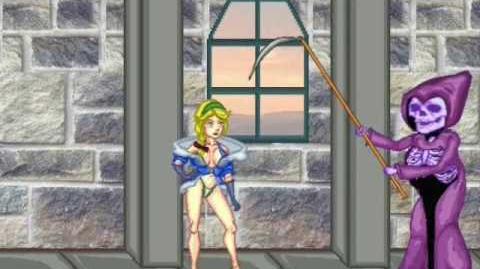 Castlevania Parody Cartoon - Sonia vs. Death