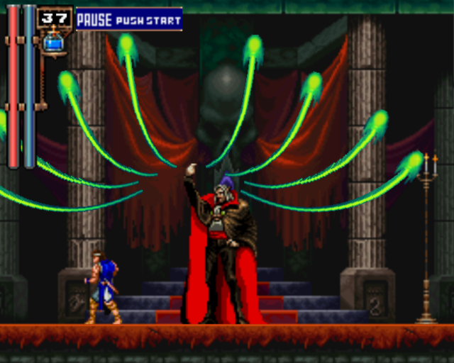 Castlevania Symphony Of The Night Golden Ring