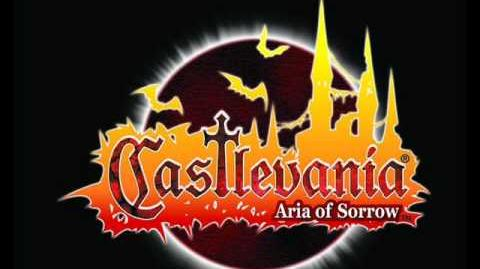Castlevania aria of sorrow music title screen + name entry