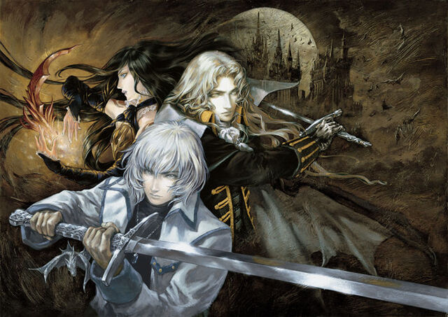 File:Castlevania Harmony of Despair Main Art.jpg