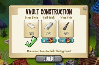 Vault materials