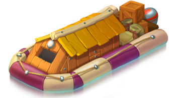 Support boat