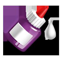 Mc icon glue