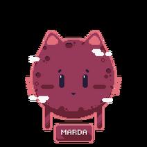 Marda button