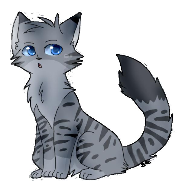 Warrior Cat Oc Nightstripe By Lilrobgrayson13 D6gn9h8
