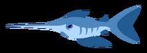 Swordfish transparent