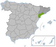 Location Tarragona province