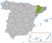 Location Lleida province