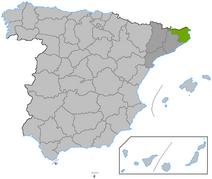 Location Girona province