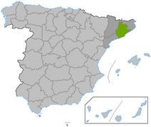Location Barcelona province