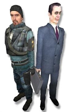 Gman and Bernard