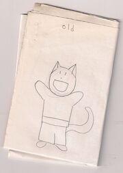Old cat comics