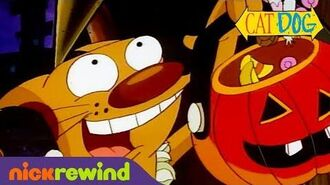 CatDog Goes Trick-or-Treating CatDog NickRewind
