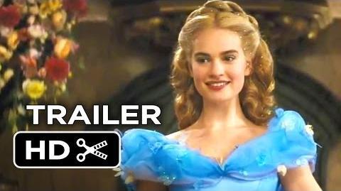Cinderella Official Trailer -1 (2015) - Helena Bonham Carter, Lily James Disney Movie HD