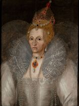 Elizabeth I portrait, Marcus Gheeraerts the Younger c 1595