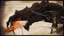 Dragon Cat Render