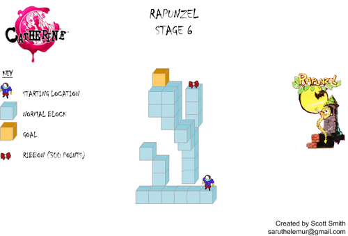 Map 6 Rapunzel