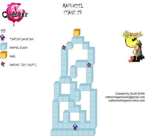 Map 23 Rapunzel