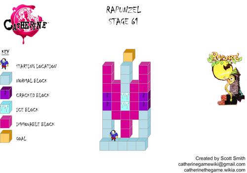 Map 61 Rapunzel