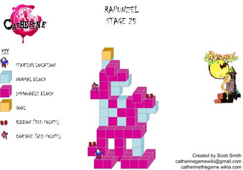 Map 25 Rapunzel