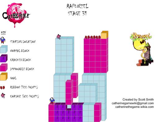 Map 31 Rapunzel