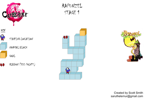 Map 1 Rapunzel