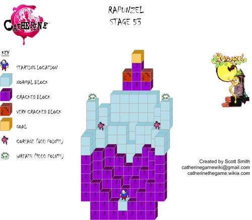 Map 53 Rapunzel