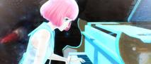 Rin glowing piano