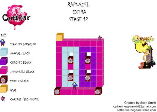 Map E12 Rapunzel