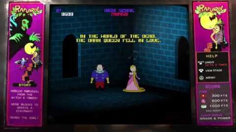 Catherine- Rapunzel Extra Mode Cutscenes (True Ending)(Messy Audio)