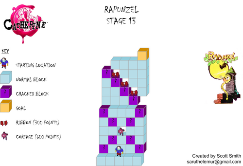 Map 13 Rapunzel