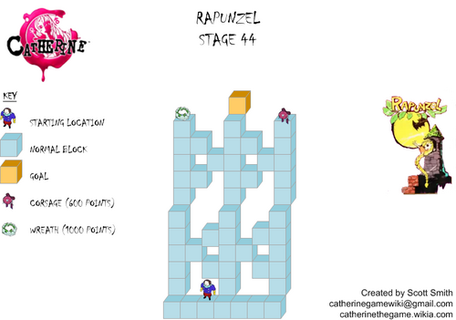 Map 44 Rapunzel
