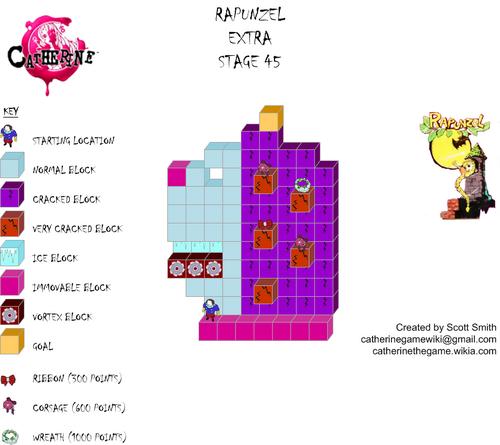 Map E45 Rapunzel