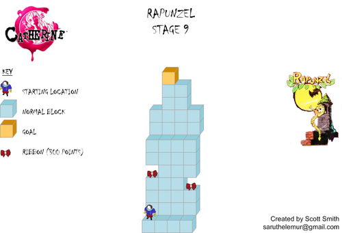 Map 9 Rapunzel