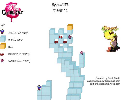 Map 16 Rapunzel