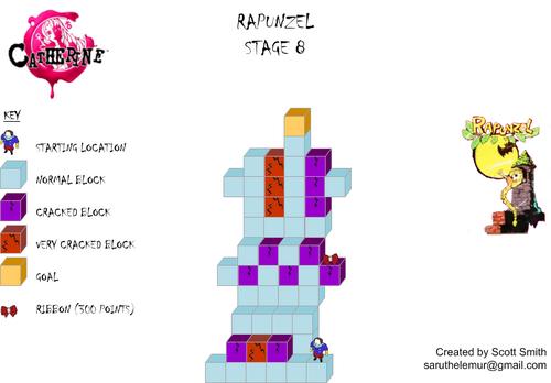 Map 8 Rapunzel