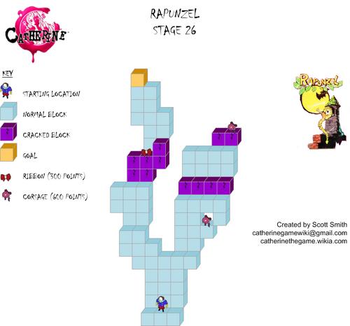 Map 26 Rapunzel