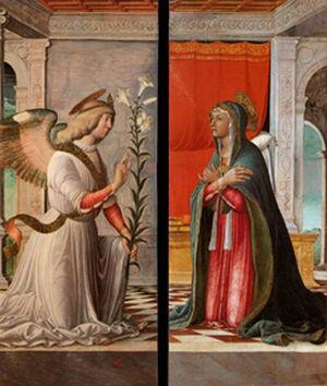 Annunciation Jacopo.Da.Montagnana
