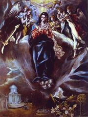 The Immaculate Conception El Greco
