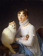 150px-La dame avec son chat, Marguerite Gérard