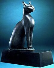 Bast the cat goddess