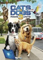 Cats & Dogs 3 Paws Unite! DVD Cover