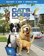 Cats & Dogs 3 Paws Unite! (Blu-ray+ DVD+ Digital Combo Pack)