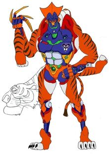 Shere khan transformed