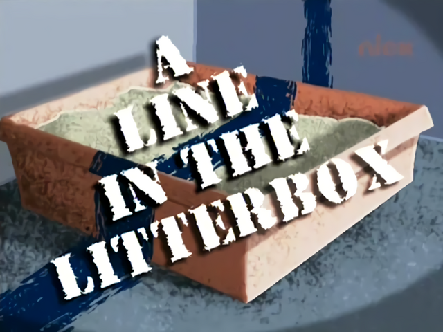 File:A Line In The Litterbox Title Card.png