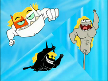 The heroic Catscratch trio