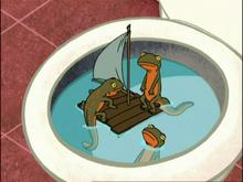 Newt Toilet