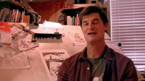 Doug TenNapel Sketchbook Archives (unseen Earthworm Jim sketches)